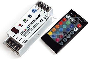 KONTROLER TAŚM LED RGB - Oświetlenie