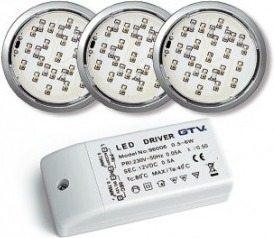 ZESTAW OPRAW LED LUGO - Oświetlenie