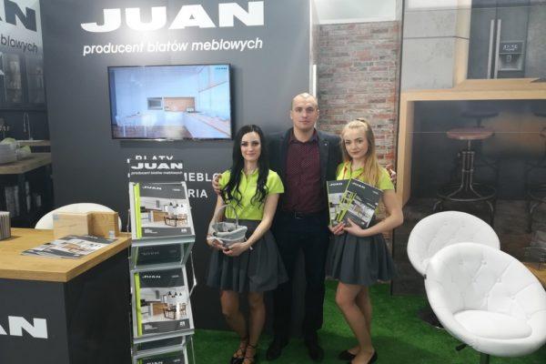 JUAN-targi-Bricomarche-blaty-kuchenne-producent